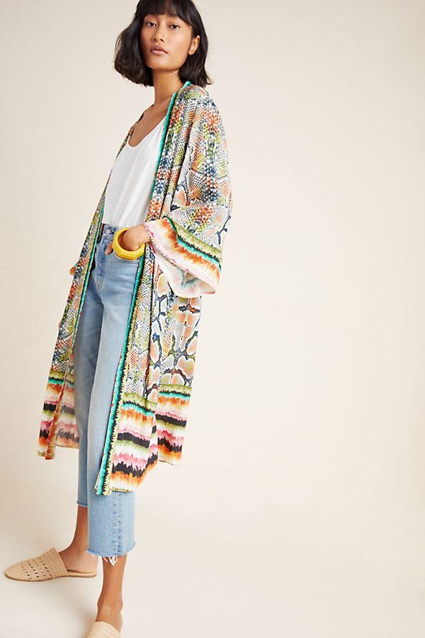 Slide View: 1: Annette Duster Kimono