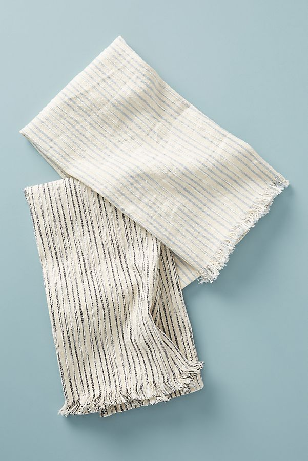 Slide View: 1: Nancy Dish Towels, Set of 2