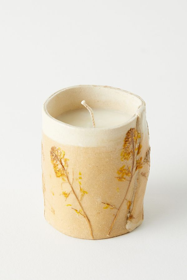 Slide View: 1: Wildflowers Candle