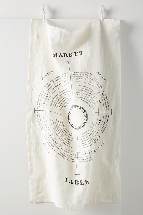Slide View: 1: Market Table Linen Dish Towel