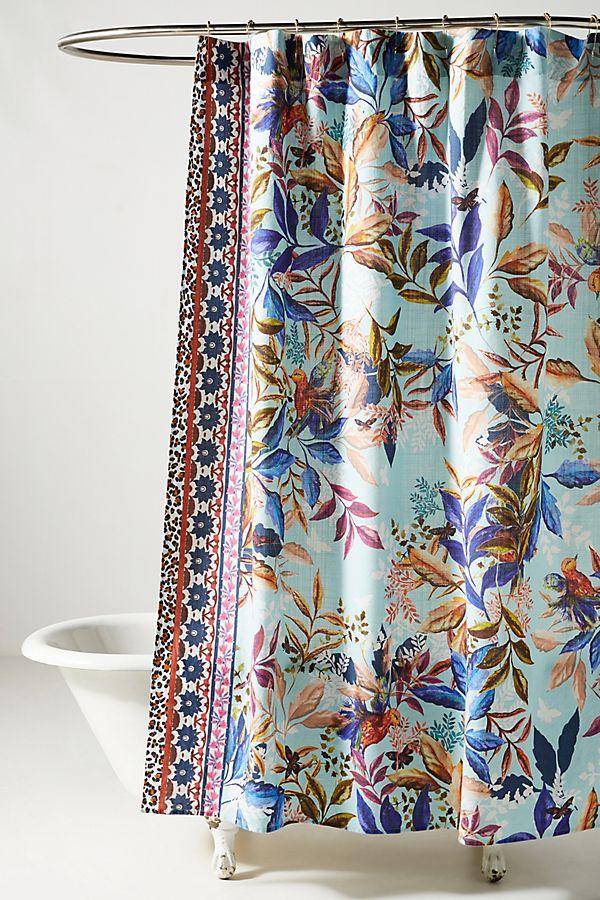 Slide View: 1: Kachel Cassatt Shower Curtain