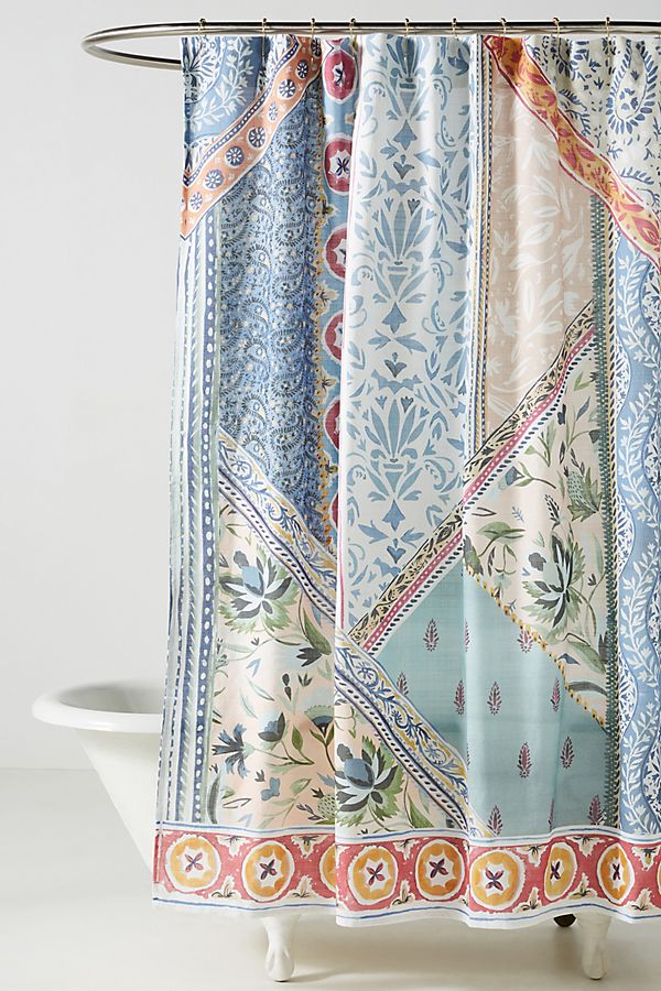 Slide View: 1: Aurelie Shower Curtain
