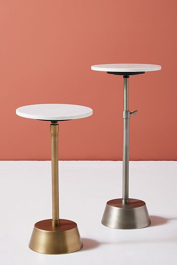Slide View: 1: Bree Adjustable Side Table