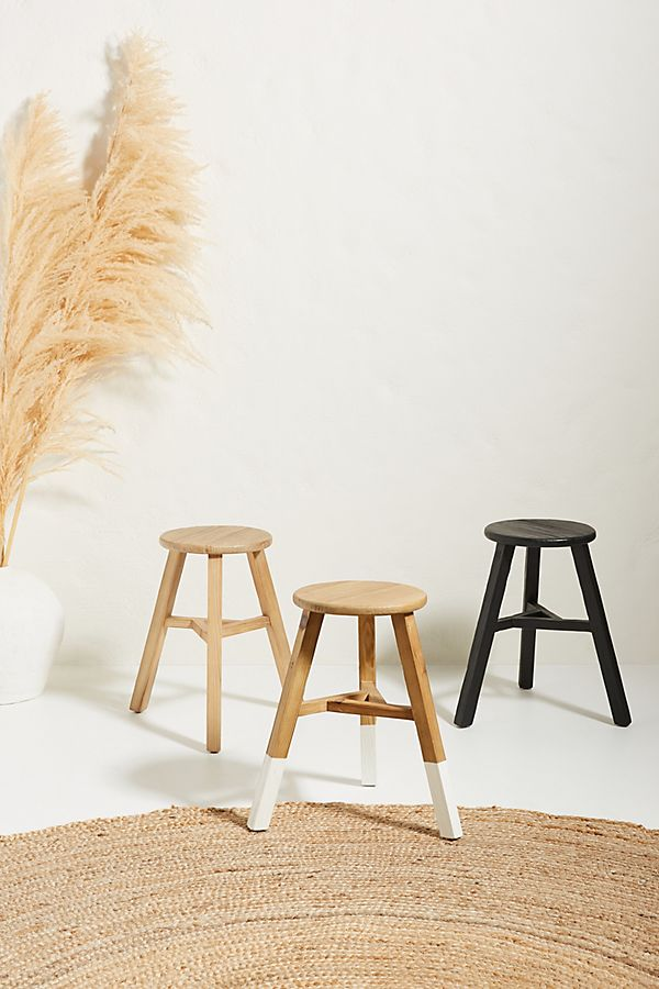 Slide View: 2: Agatha Pine Stool