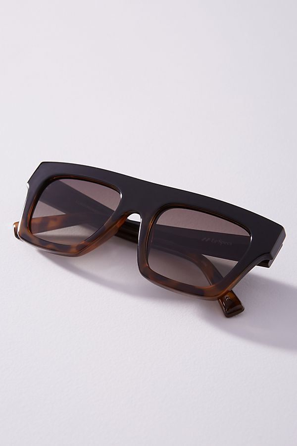 store order first look Le Specs Subdimension Square Sunglasses | Anthropologie