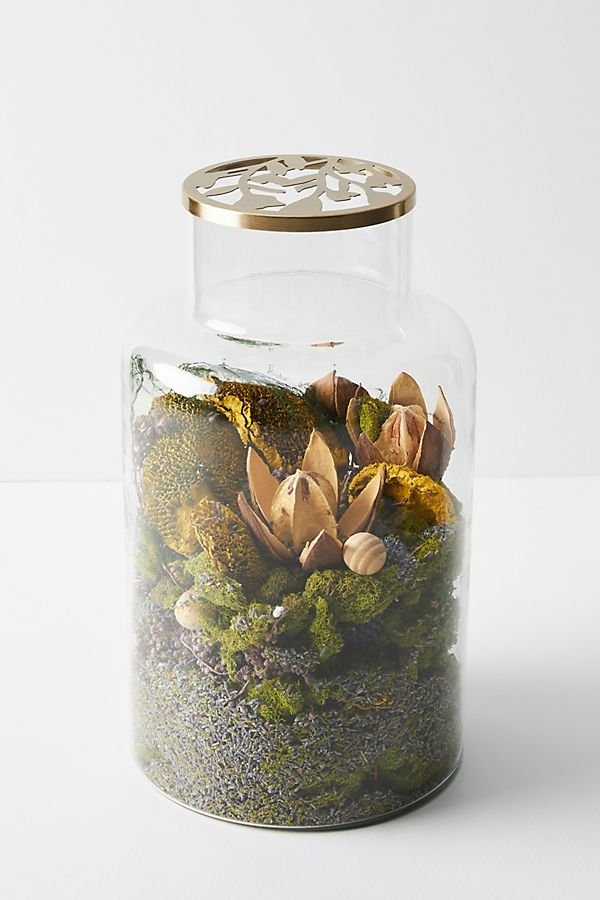 Slide View: 2: Floral Fragrance Jar