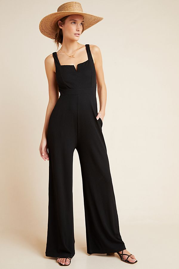 Slide View: 1: L Space Selena Ribbed Jumpsuit