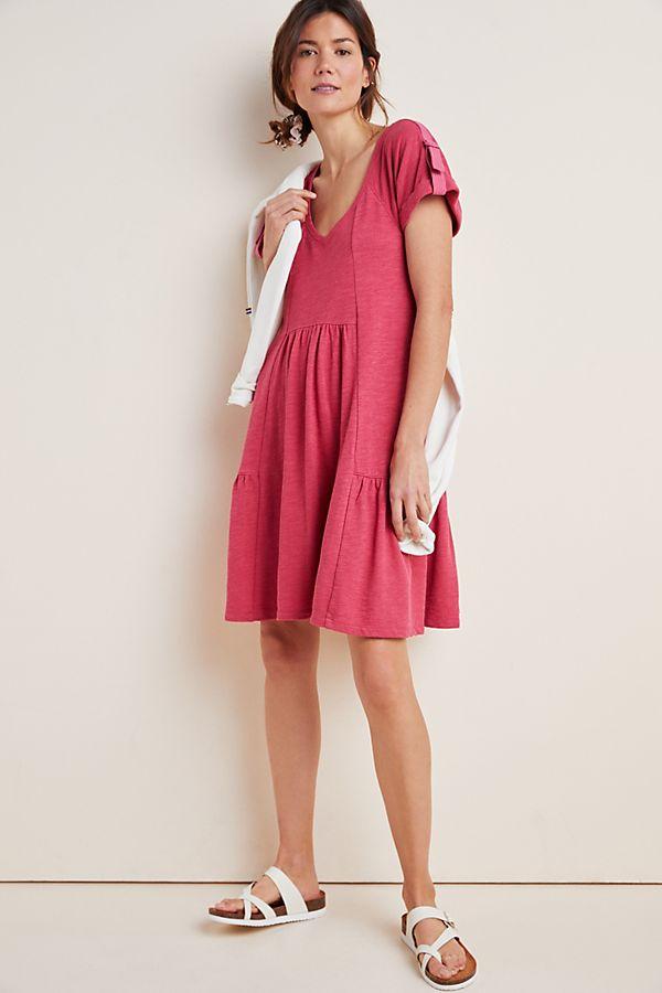 Slide View: 1: Kathie Flounced Mini Dress