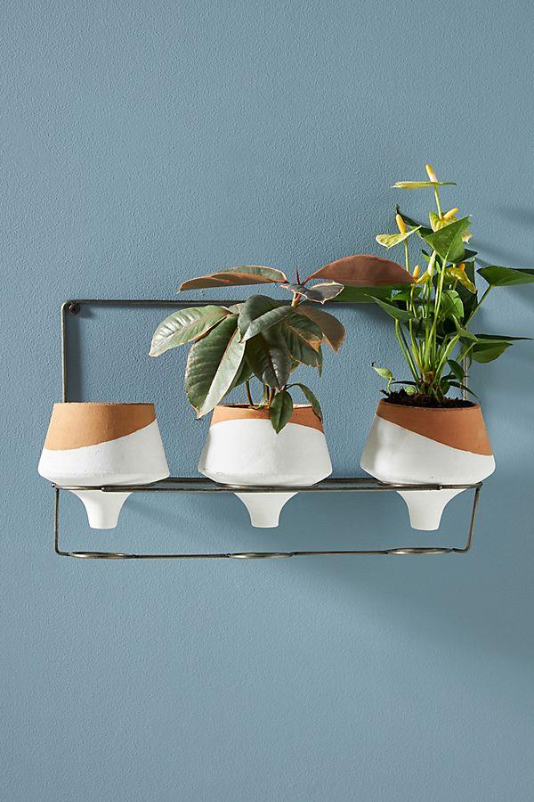 Slide View: 1: Hanging Dip Pots, Set of 3