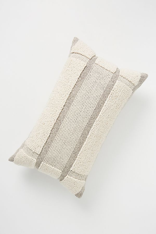 Slide View: 1: Looped Grid Pillow