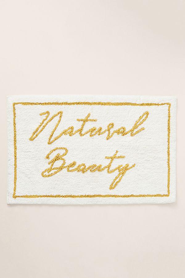 Slide View: 1: Natural Beauty Bath Mat