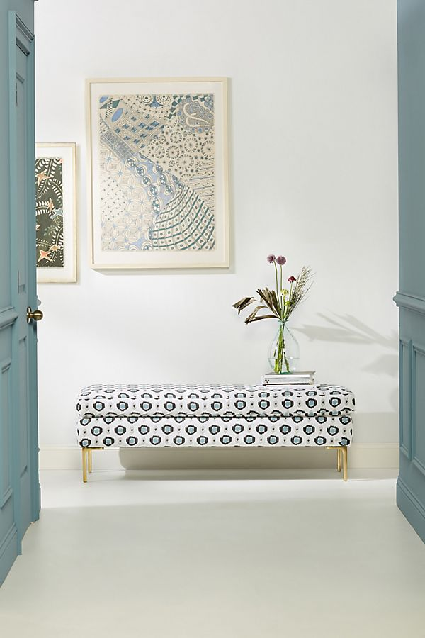 Slide View: 1: Dotted Edlyn Bench
