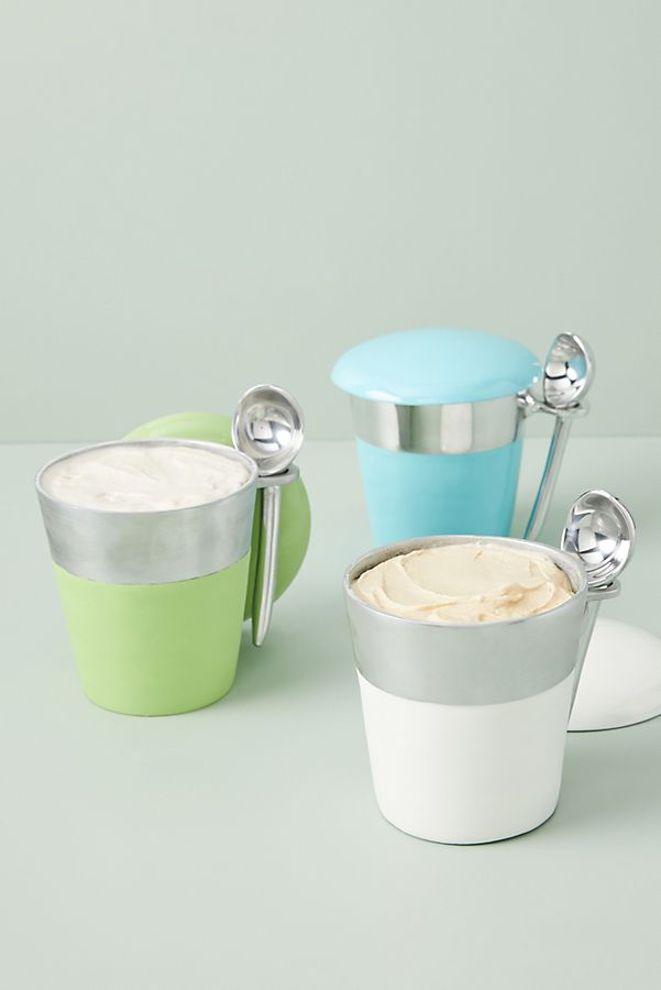 Slide View: 1: Reusable Ice Cream Pint Jar