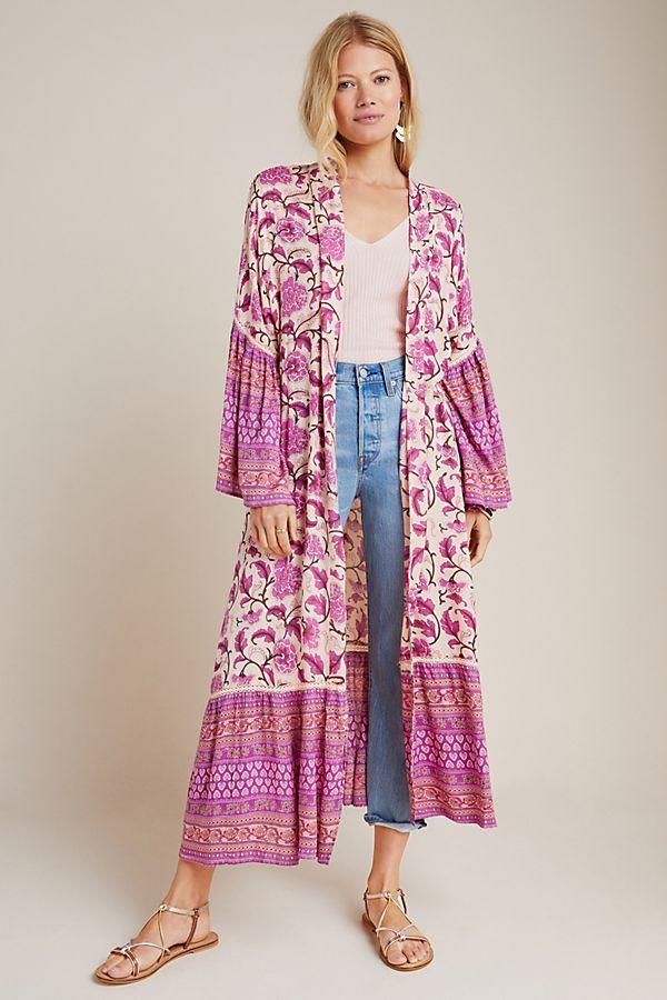 Slide View: 1: Antoinette Duster Kimono