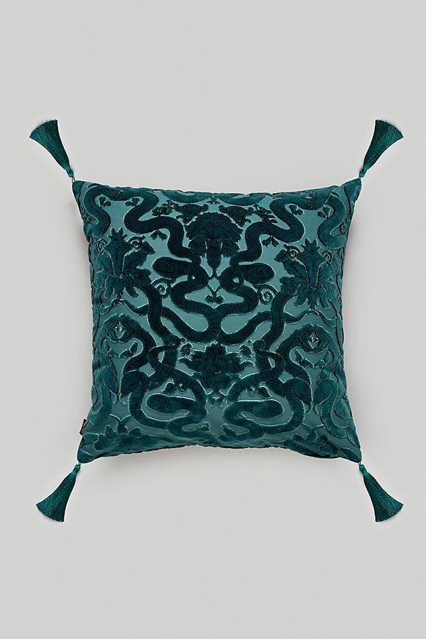 Slide View: 1: House of Hackney Anaconda Velvet Pillow