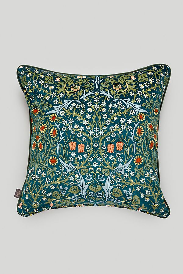 Slide View: 1: House of Hackney Blackthorn Velvet Pillow