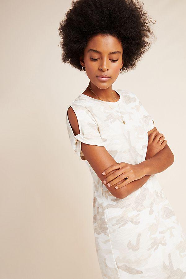 Slide View: 1: Sanctuary Camo Cut-Out Mini Dress