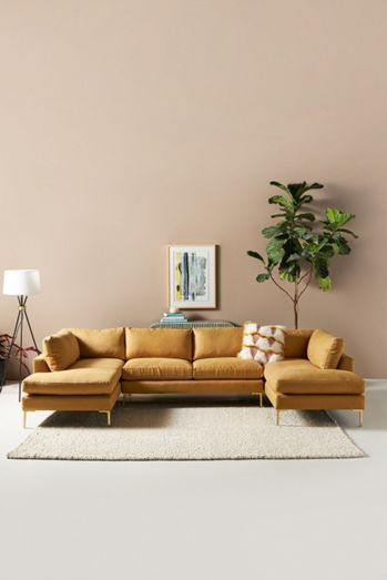 Bowen Modular Armless Sofa
