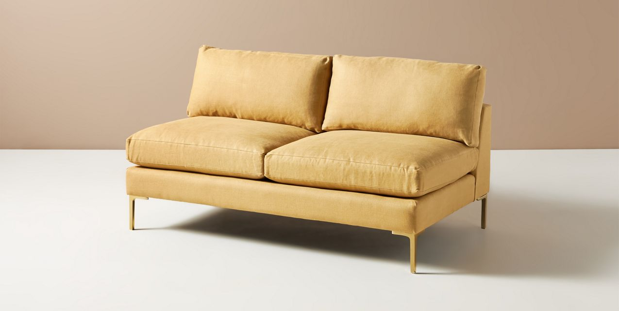 Bowen Modular Armless Sofa Anthropologie