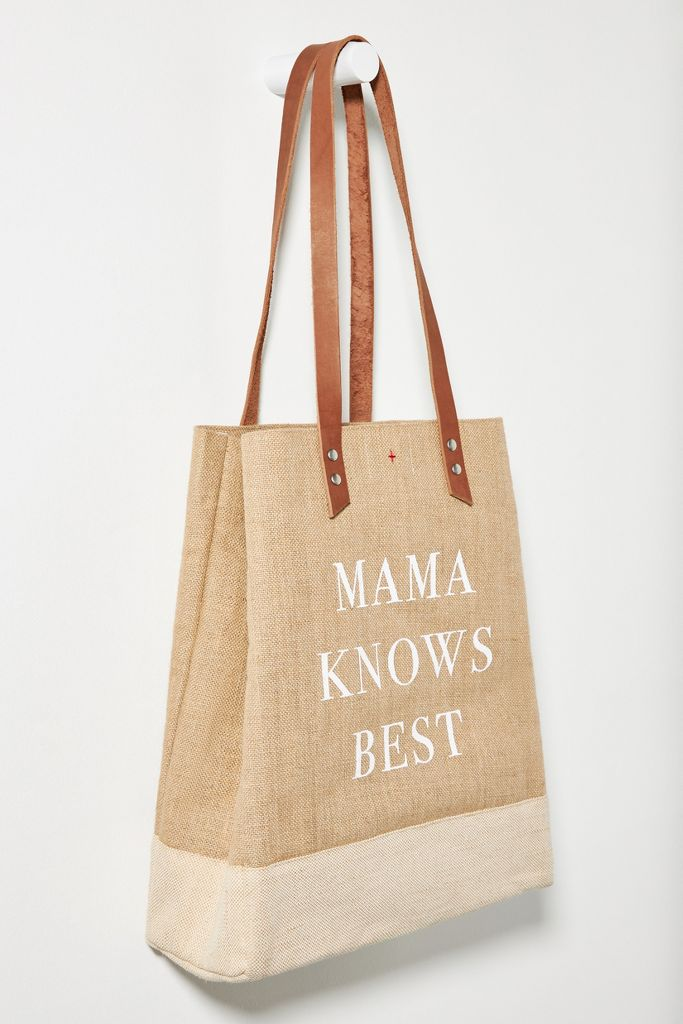 mama knows best tote - anthropologie