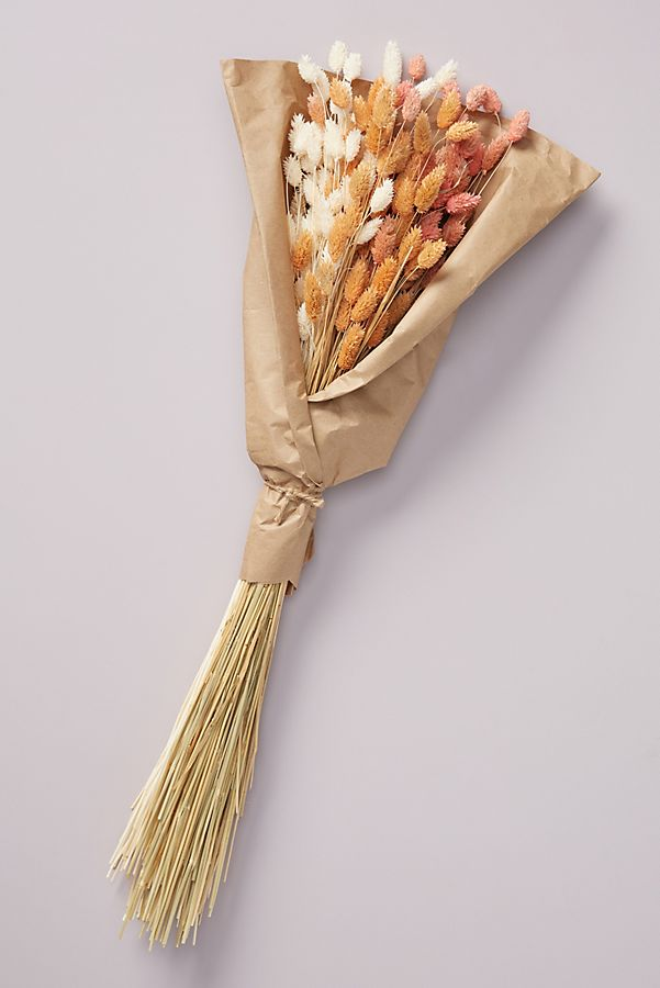 Slide View: 1: Dried Phoebe Bouquet