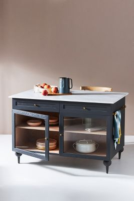 Kitchen Islands With French Country Style