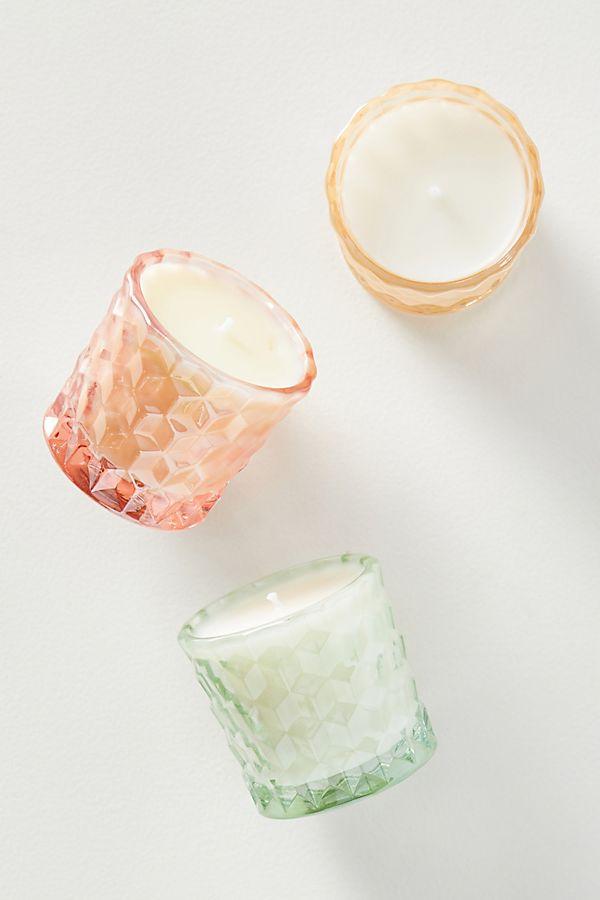 Slide View: 1: Voluspa Maison Glass Candles, Set of 3