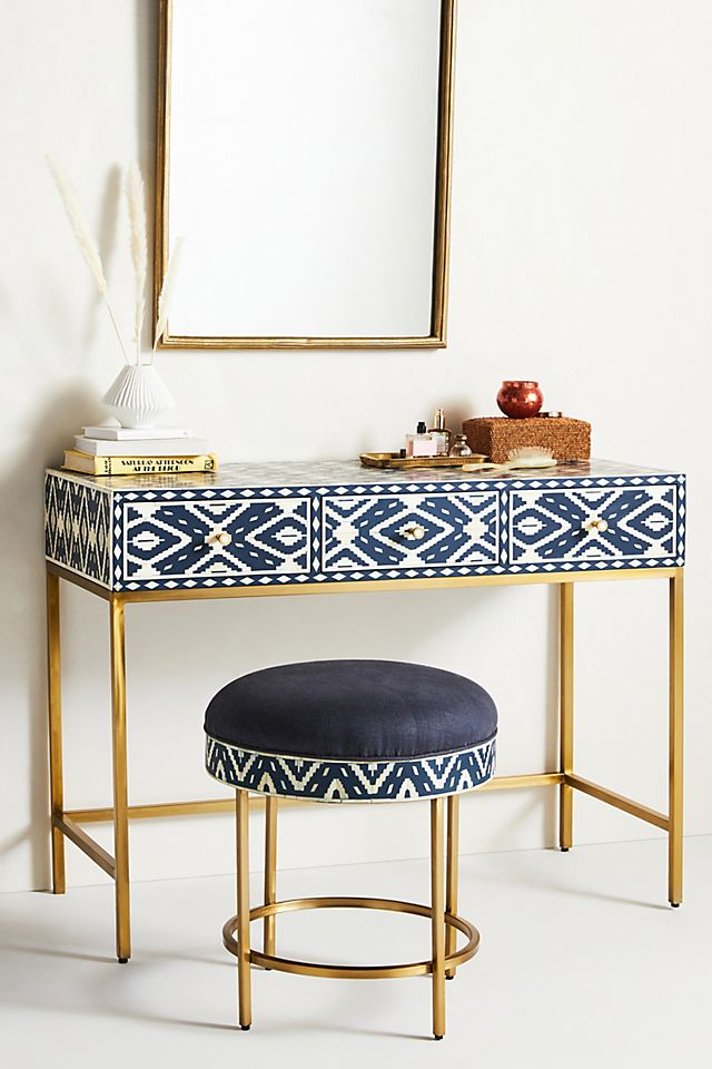 Ikat Inlay Vanity Table £1,498.00