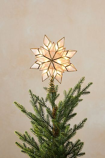 Christmas Tree Toppers Christmas Tree Skirts Anthropologie
