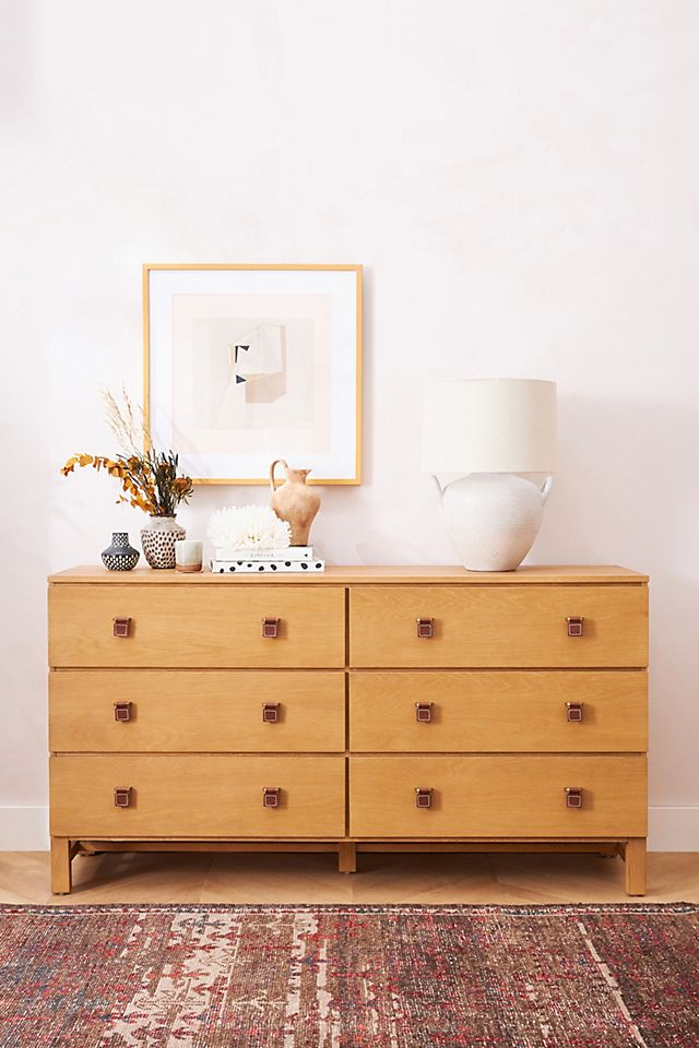 Amber Lewis For Anthropologie Sunfair Six Drawer Dresser Anthropologie