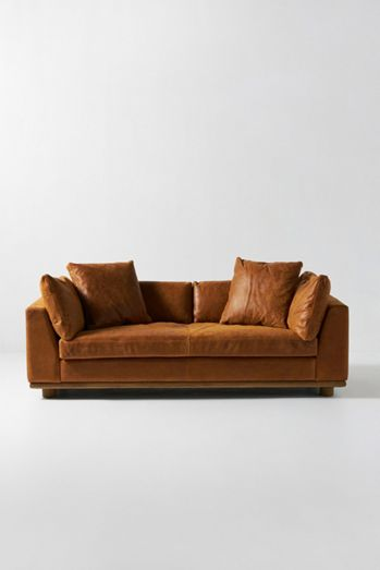 Relaxed Saguaro Leather Sofa