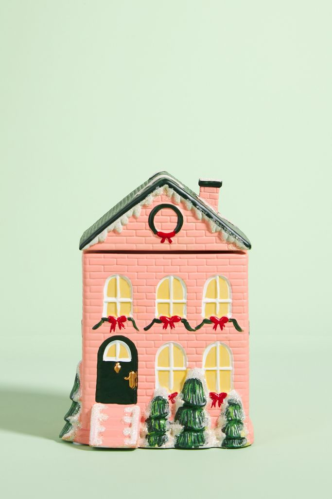 Pink townhouse candle - Anthropologie