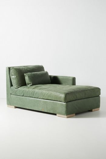 Sunday Modular Leather Chaise