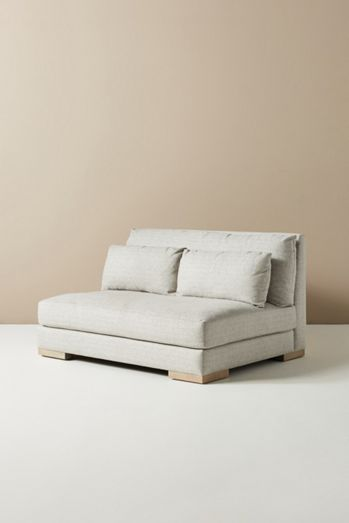 Relaxed Sunday Modular Armless Loveseat