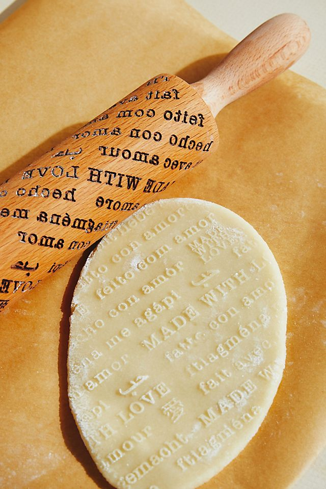 Heartfelt by Anthropologie Made With Love Rolling Pin | Anthropologie