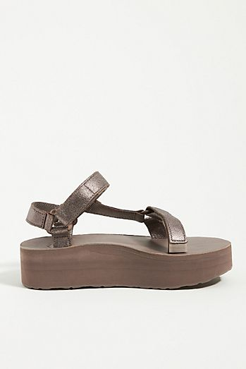 Teva Flatform Universal Leather Sandals