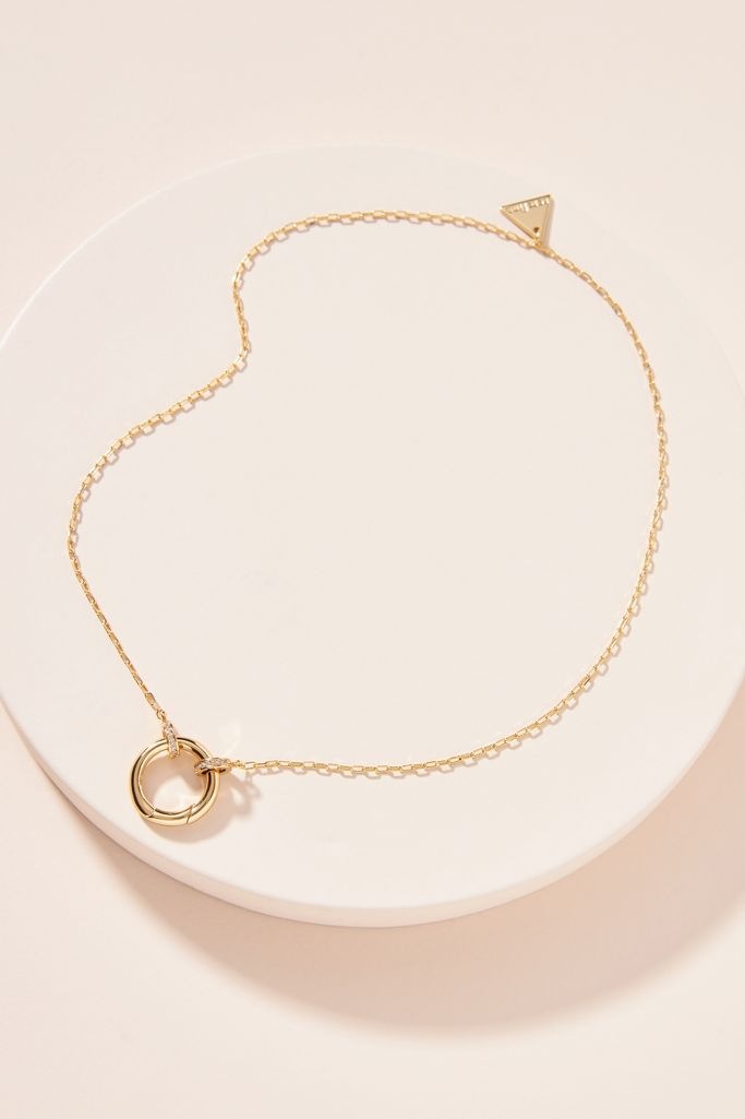 Build a necklace circle chain - Anthropologie.