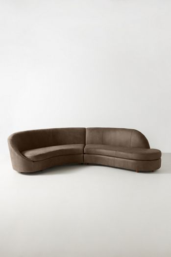 Goleta Leather Two-Piece Sectional