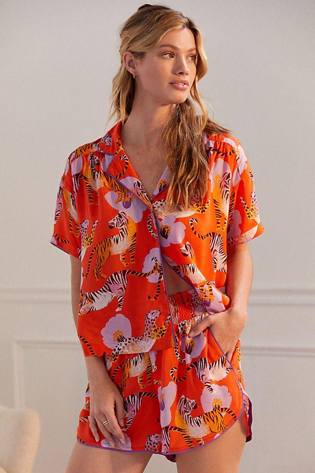 Claire Colin Dreamer Pyjama Shorts Anthropologie