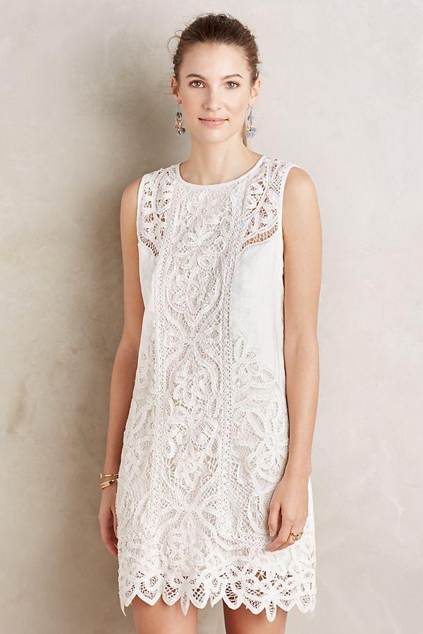 86f432ee24e9 Perla Lace Shift Dress