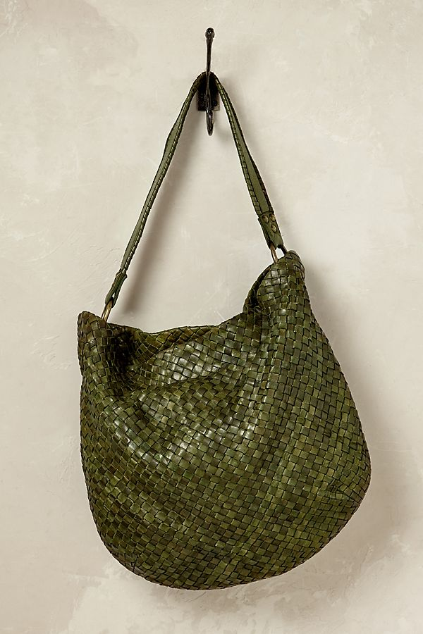 057b1af4a0 Leila Woven Leather Bag