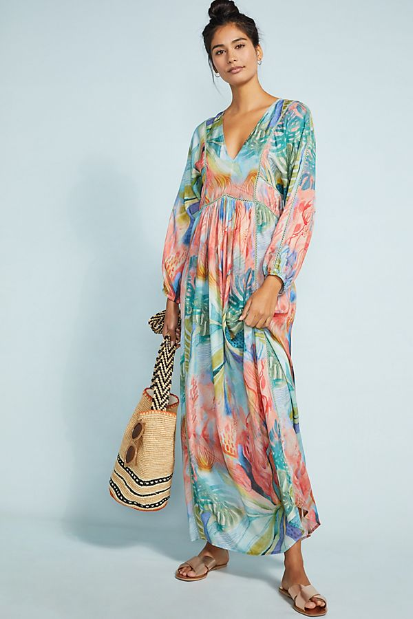 Slide View: 1: Victory Cover-Up Maxi Dress