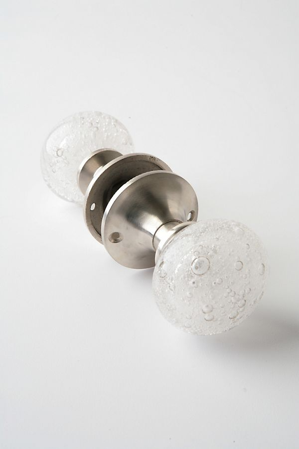 Slide View: 1: Glass Bubble Door Knob