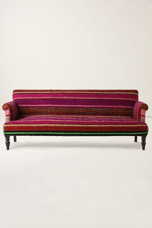 Striped Kilim Sofa | Anthropologie