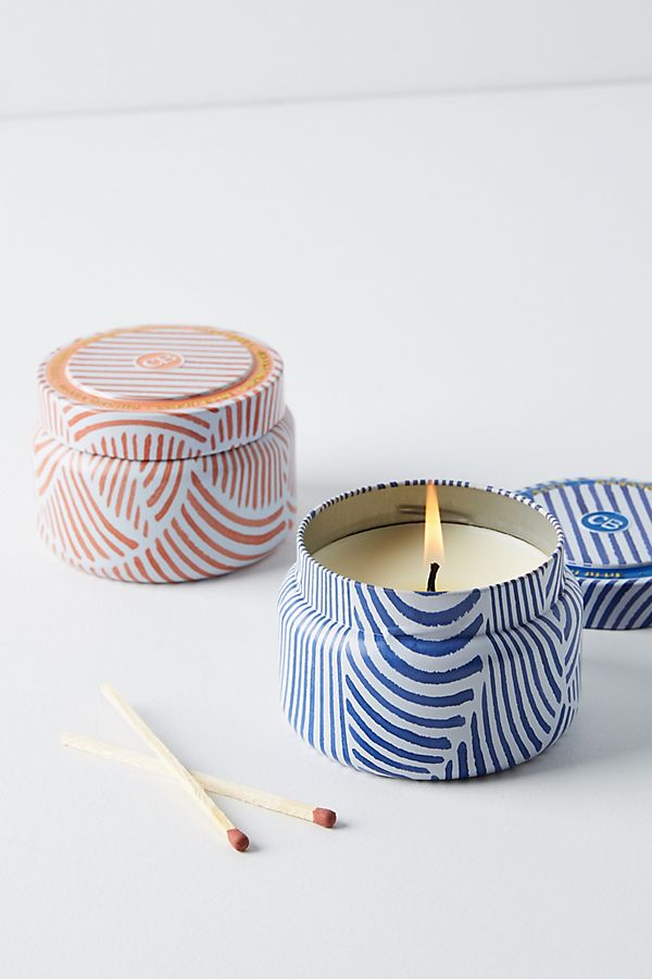 Slide View: 2: Capri Blue Candle Tin