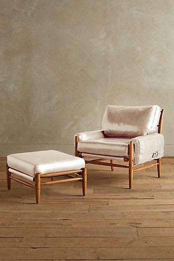 Premium Leather Rhys Ottoman