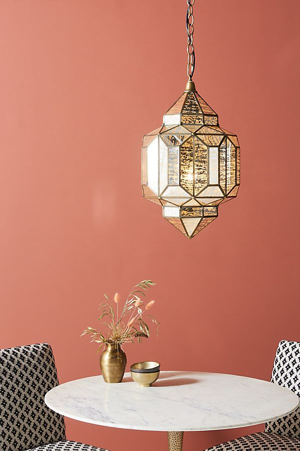 Slide View: 1: Marquise Lantern Pendant