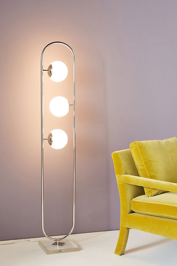 Sabrina Led Floor Lamp by Anthropologie