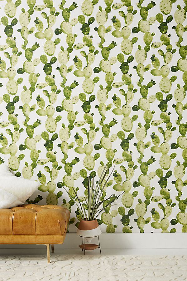 Slide View: 1: Ghosted Cactus Wallpaper