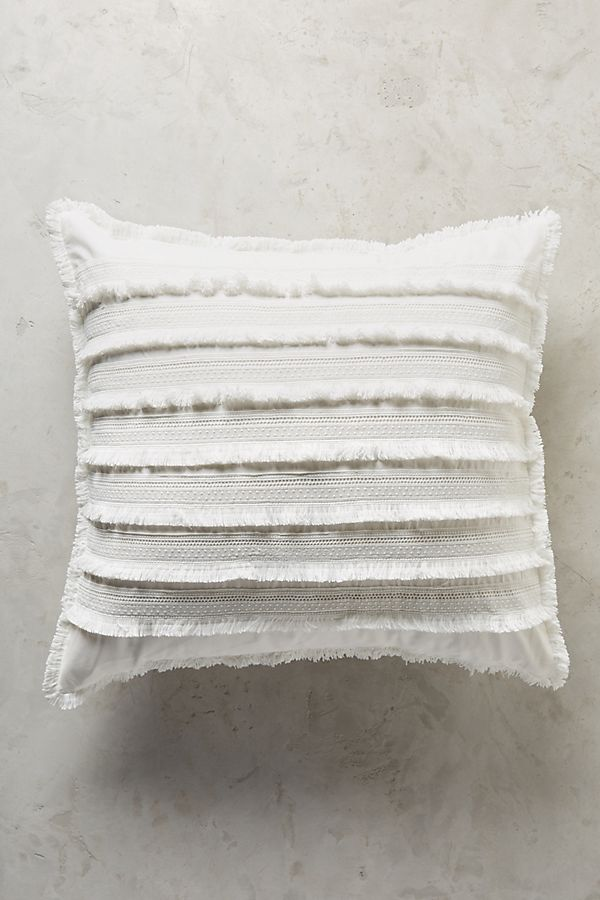 Paxos Fringed Square Pillowcase